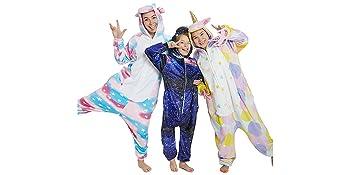 unicorn onesie pajama costume
