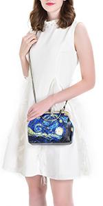 starry night purse
