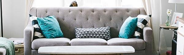 Unsere Wohnwohl Textilien sorgen für den optimalen Wohlfühlfaktor in jedem Zuhause.