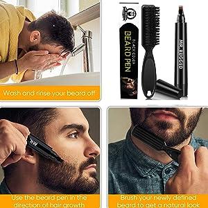 beard filler pen