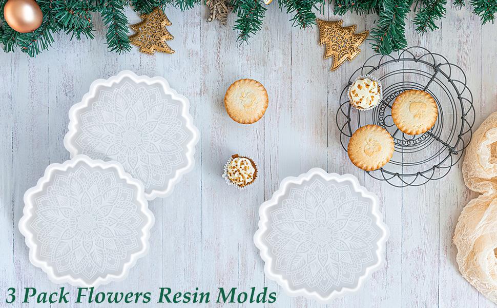 flowers resin mold