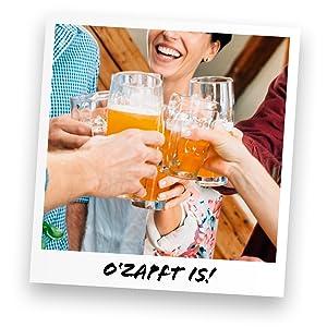 Barril de cerveza O'zapt is!