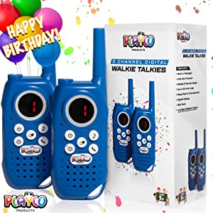 gift gifts camping adventure 3 4 5 6 7 8 year old children childrens walkie talkies kids walkie