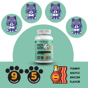 Herboloid Cats.Ranger Pretty Kitty Coat, Skin amp; Nails Pet Supplement