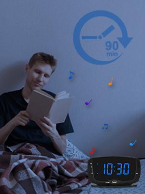 bedroom alarm clock radio