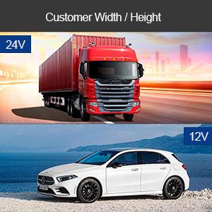 customer width height