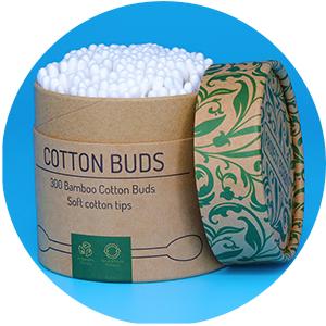 Bamboo Cotton Buds, Bamboo Ear Buds, Cotton bud storage