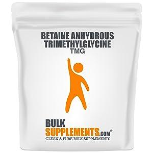 tmg, tmg supplements, betaine anhydrous, tmg powder, trimethylglycine