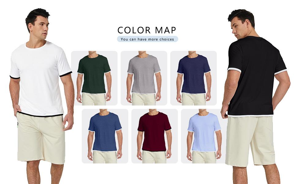 white t shirt for men