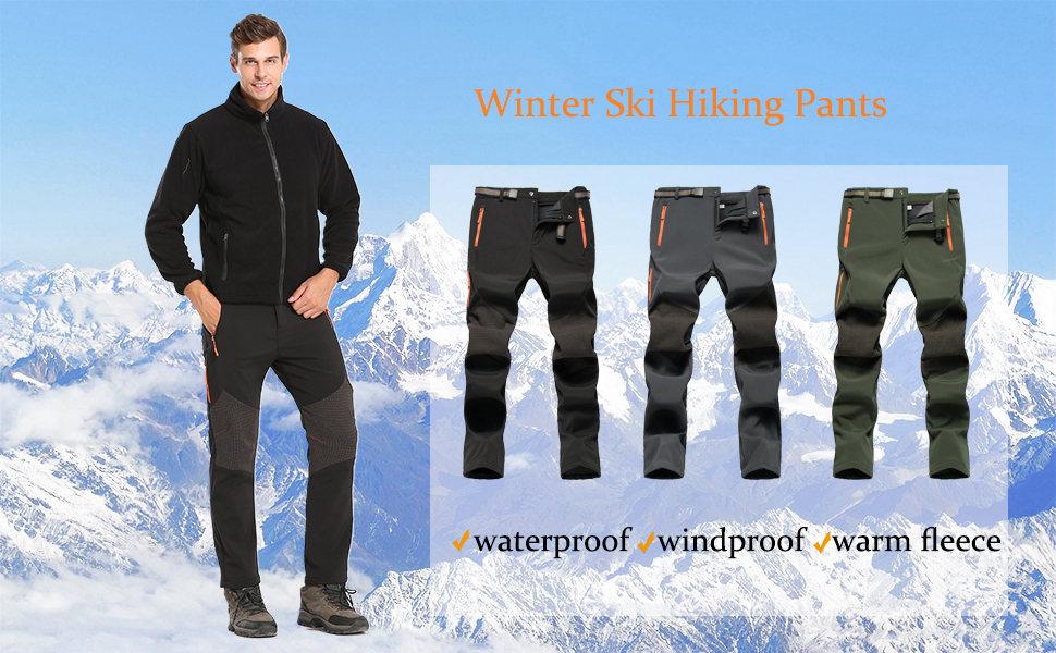 mens winter ski pants