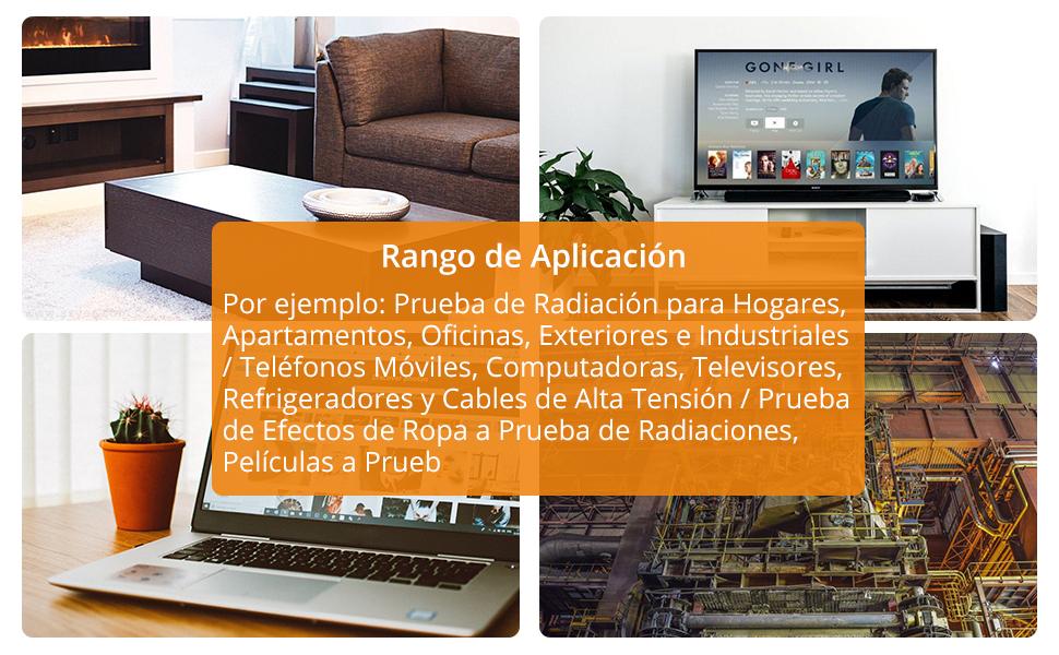 Neoteck EMF Medidor de Radiación de Campo Electromagnético de Mano Mini Digital LCD Detector de EMF con Protección contra Radiación: Amazon.es: Industria, empresas y ciencia