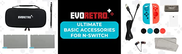 Ultimate Basic Accessories for NSWITCH