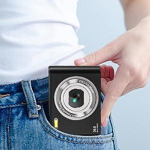 Slim, pocket-friendly design