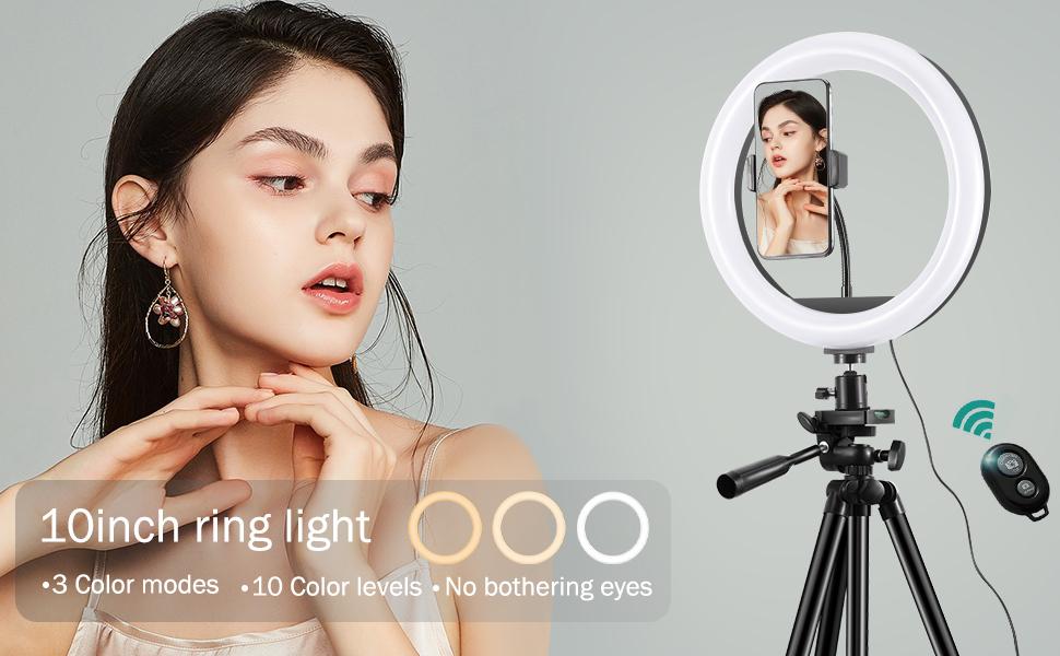10 inch ring light