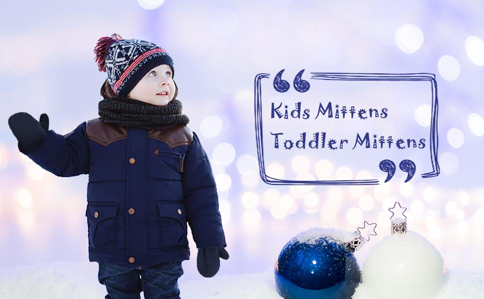 Kids mittens
