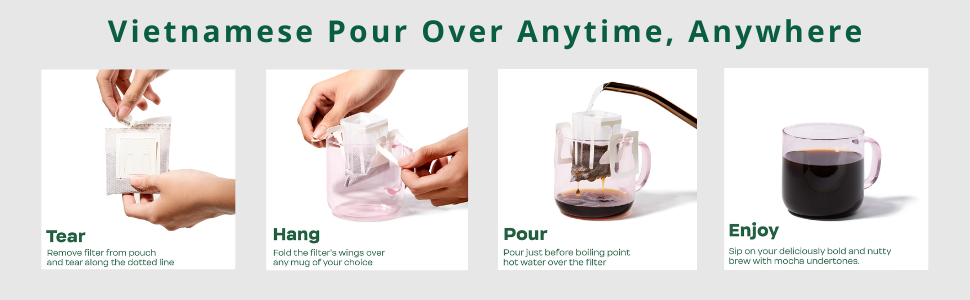pour-over, vietnamese, coffee, latte, sustainable, women-owned, portable