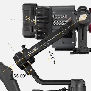 powerful gimbal stabilzier