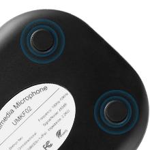 usb microphone with anti-slip pads