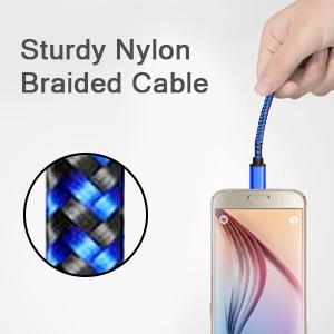 Sturdy Nylon Braided Cable