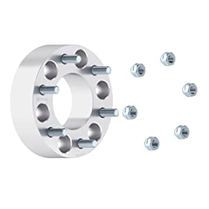 Changes Bolt Pattern 14x1.5 Studs for Cadillac Escalade Chevy Avalanche Silverado Tahoe GMC Sierra 6x139.7 to 6x135 RockTrix for Precision European Spacers 2pc 1.5 Wheel Adapters 6x5.5 to 6x135