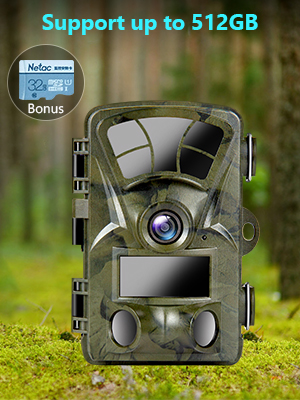 trail camera with SD card