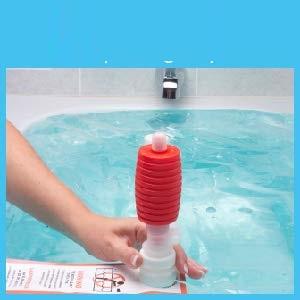 Badewanne Notfall Wasser-Vorratsbeh/älter WaterBOB 1 100 Gallonen Trinkwasserspeicher BPA-frei Hurrikan /überleben