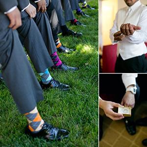 Groomsmen Dress Socks Wedding Socks Funny Argyle Socks