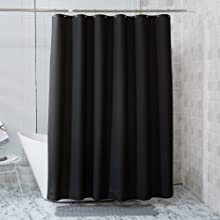 thin shower curtian liner