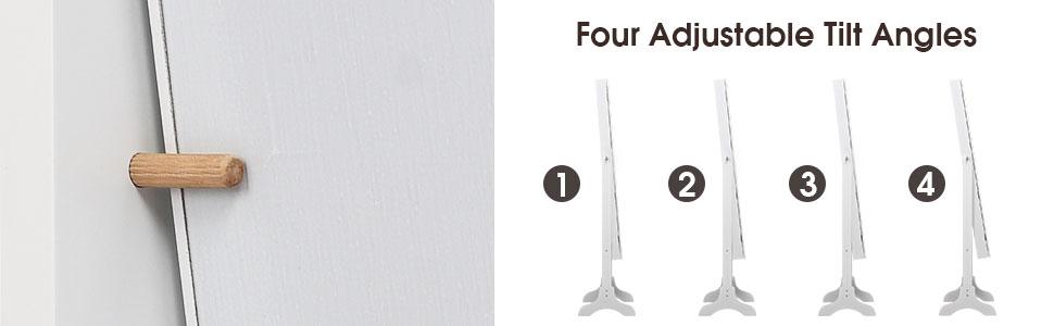 Four Adjustable Tilt Angles
