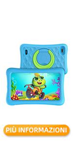 VANKYO Tablet Z1 per Bambini