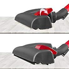 Verstellbare Bodenbürste mit eingebauter Bürste