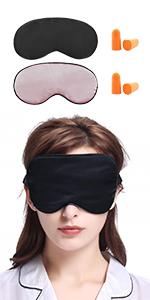zijde slapen slaap masker blokkeren licht lilysilk