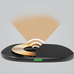 Safe and Secure wireless Charger Unipad