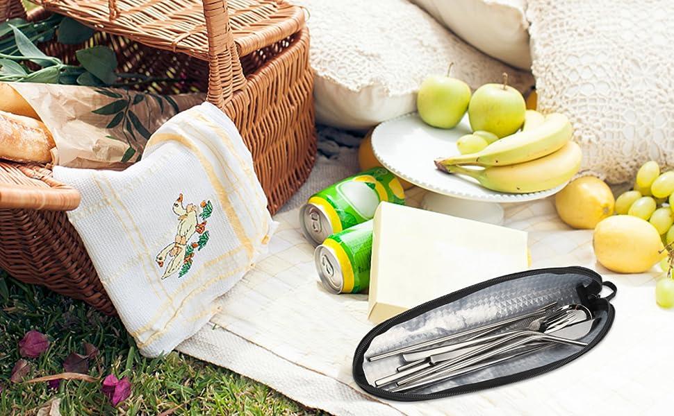 traveling utensils