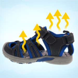 TZJS Toddler Sandals Boys Girls,Closed-Toe Outdoor Summer Beach Sport Sandals(Toddler//Little Kid//Big Kid