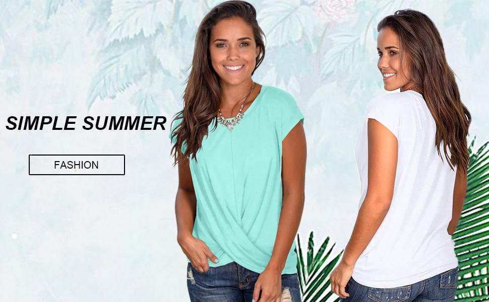 women's summer tops