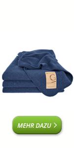 Manta Marie de lana virgen de oveja, lavable, cálida, transpirable y ligera