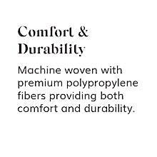 comfort, durability, rug