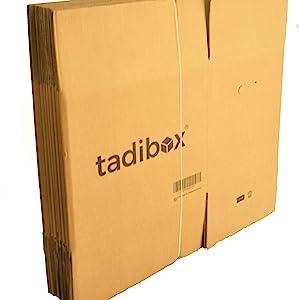 12 Cajas de Cartón para Mudanza (Talla M) con Asas - Extra ...