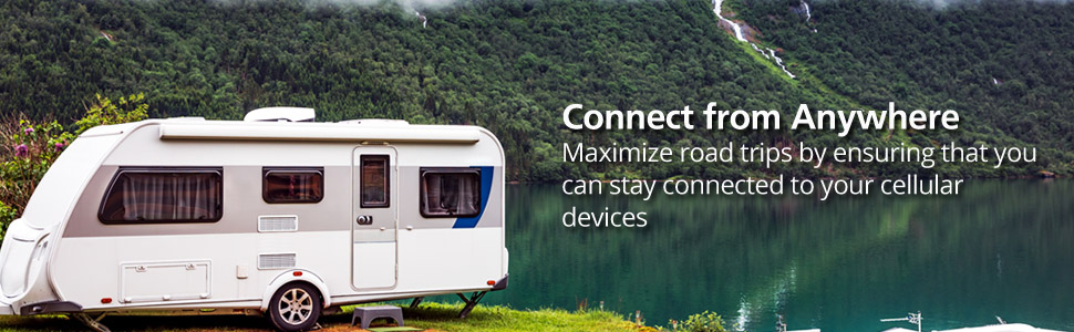 cell phone signal booster for rv vans motor home