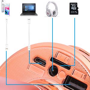 Wireless 4 in 1 Bluetooth Karaoke Microphone