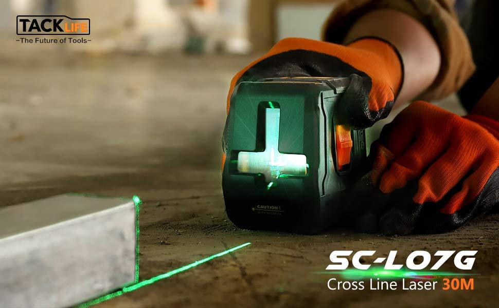 TACKLIFE SC-L07G Green Laser Level