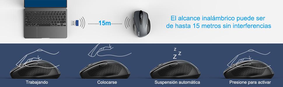 Ratón Inalámbrico 2.4G
