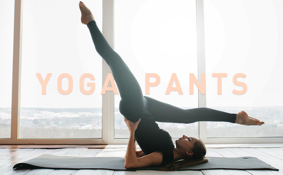 WingsLove Women's Workout Capris Sport Leggings Yoga Pants Mid Waist 3/4 Fitness Running Trouser