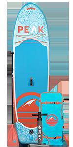 PEAK Fitness Paddle Board