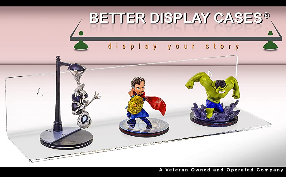 Acrylic Display Wall Organization Shelf Versatile Collectible Funco Hottoy Figure Doll Mug Toy Lego