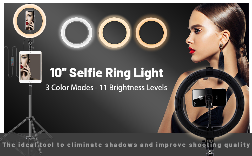 New Generation of Selife Ring Light