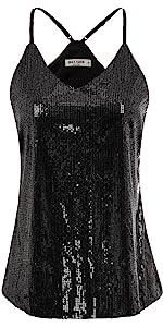 women sequin tops