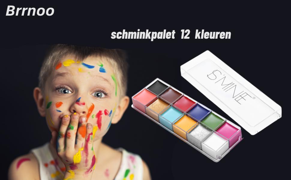 schminkpalet Make uppalet 12 kleuren