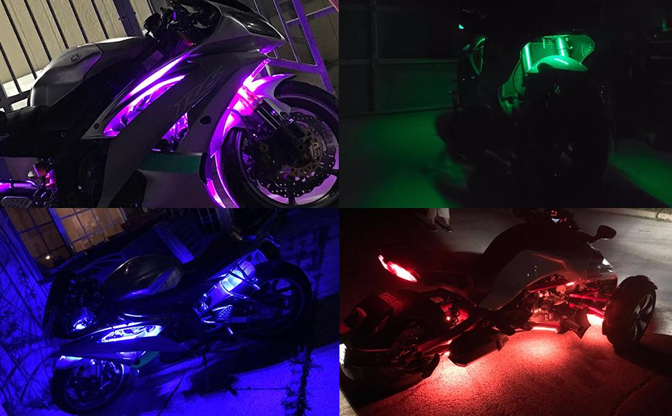 motorcycle led kit